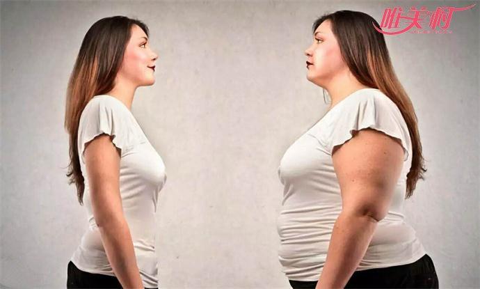 瘦身前后对比
