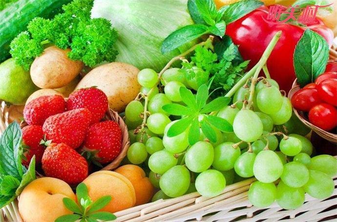 平常多吃水果蔬菜