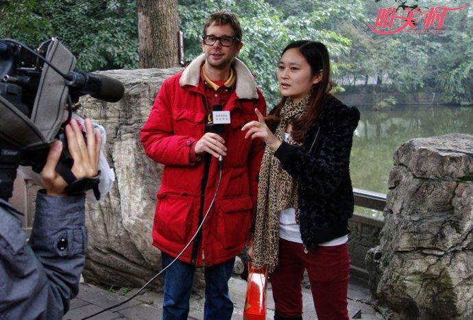 江喃被采访