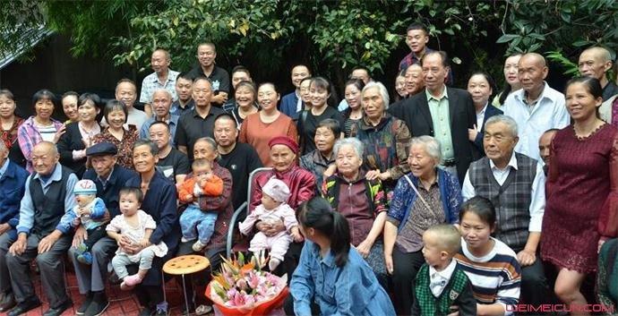 老人118岁生日