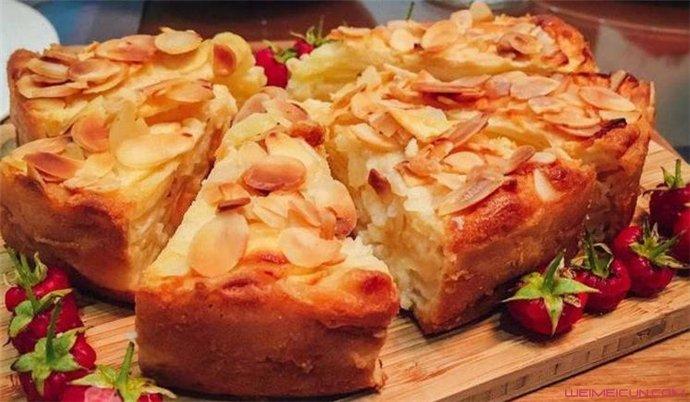 苹果杏仁隐形蛋糕怎么回事