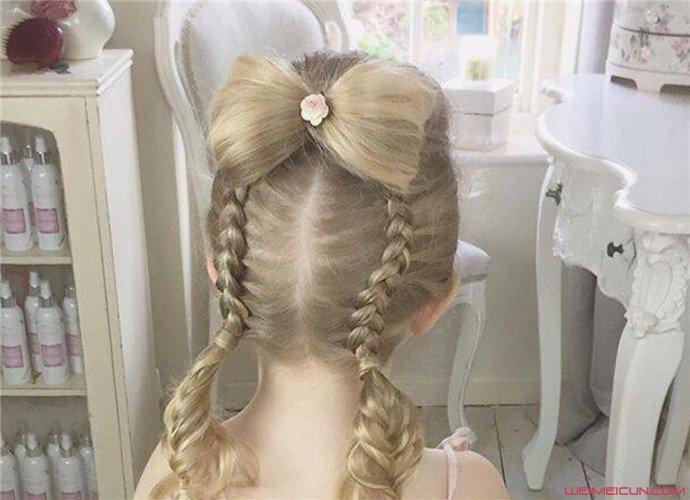 儿童公主头编发教程图解 这几款时尚大方的编发不要错过了